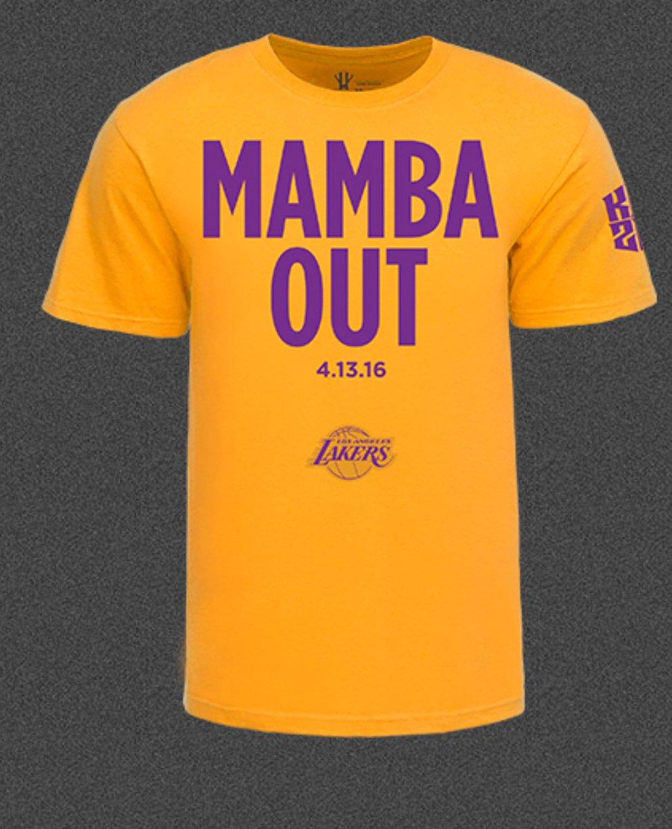 tuvliv Top trending tweet is #mambaout, kobe\'s last words in postgame