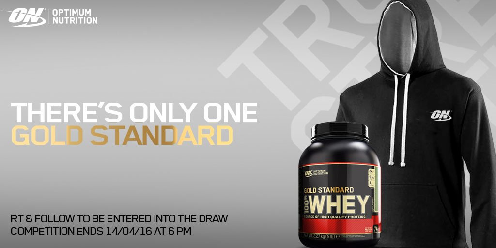 We're giving you the chance to #Win a tub of #GoldStandard Whey & #TeamON hoody! #RT & Follow to enter!! https://t.co/J1t4IQ9tCu