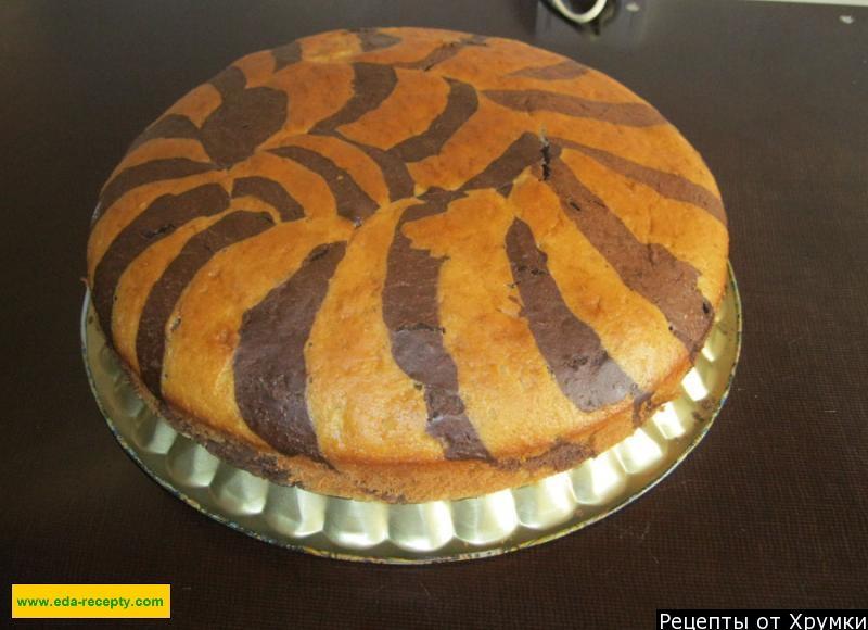 Торт зебра рецепт с пошагово в домашних условиях простой