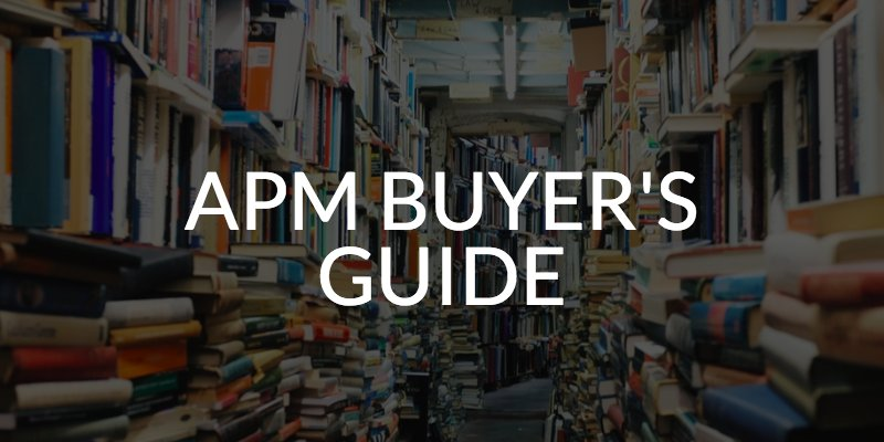 Looking to invest in some #APM? Here's a guide to figure out which solution is right for you https://t.co/hFKfxzcaDh https://t.co/WDz9ujGBGF
