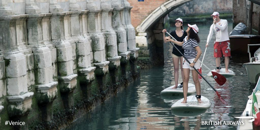 Switch a gondola for a paddleboard. See Venice from another side. Discover more