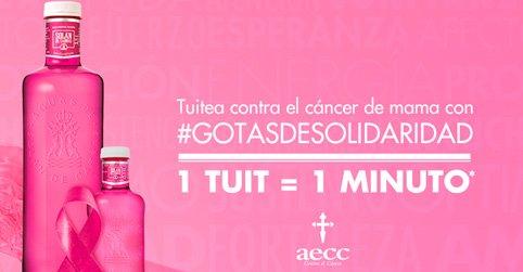 Todas las #gotasdesolidaridad que sean necesarias para acabar con el #Cancerdemama. Nos unimos 1 tuit = 1 minuto https://t.co/rB5Z6FSuMd
