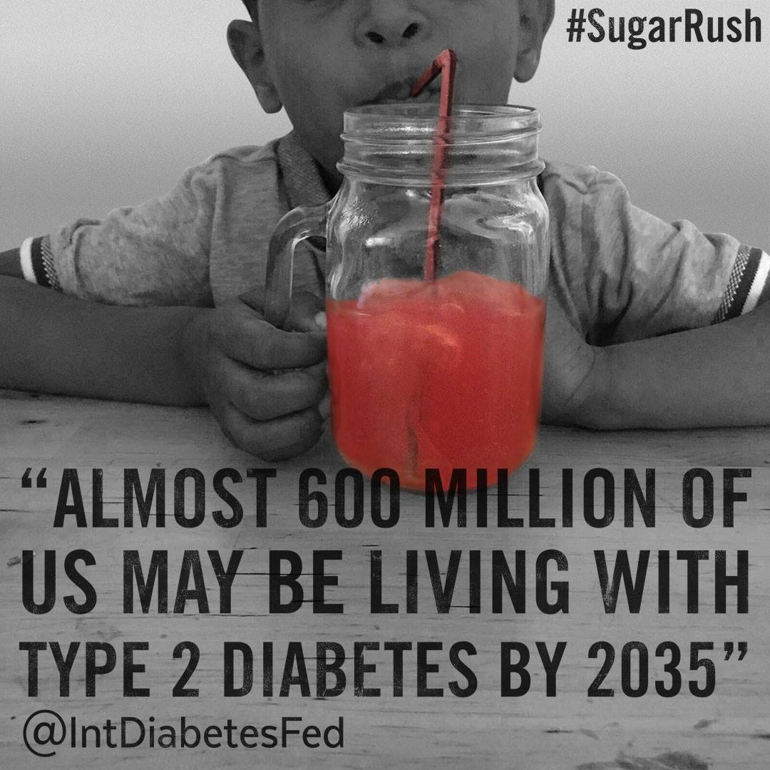 Guys, @WHO's #WorldHealthDay on #diabetes shows that we need a #FoodRevolution. Sign up at https://t.co/LruM6syOUP https://t.co/U4LWCHpHUw