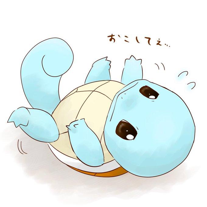 ゼニガメ かわいい イラスト