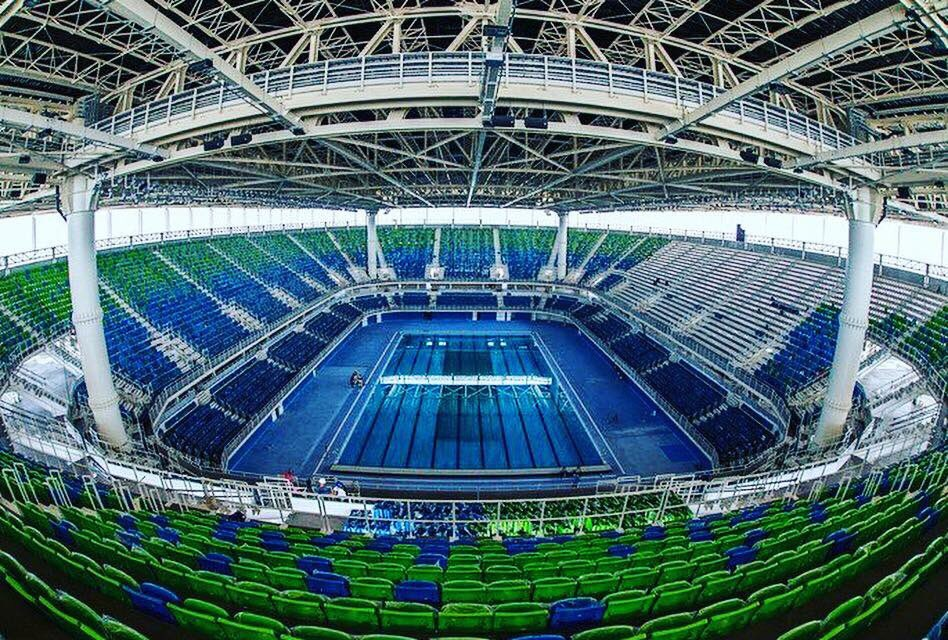 The Rio Olympic pool is looking pretty special! GB Trials start next week #Rio #Olympics