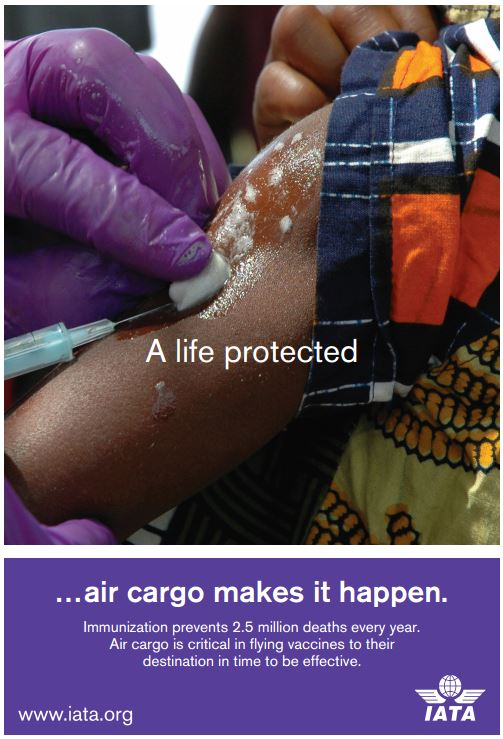 On this WorldHealthDay we are looking at how aircargo helps to protect lives