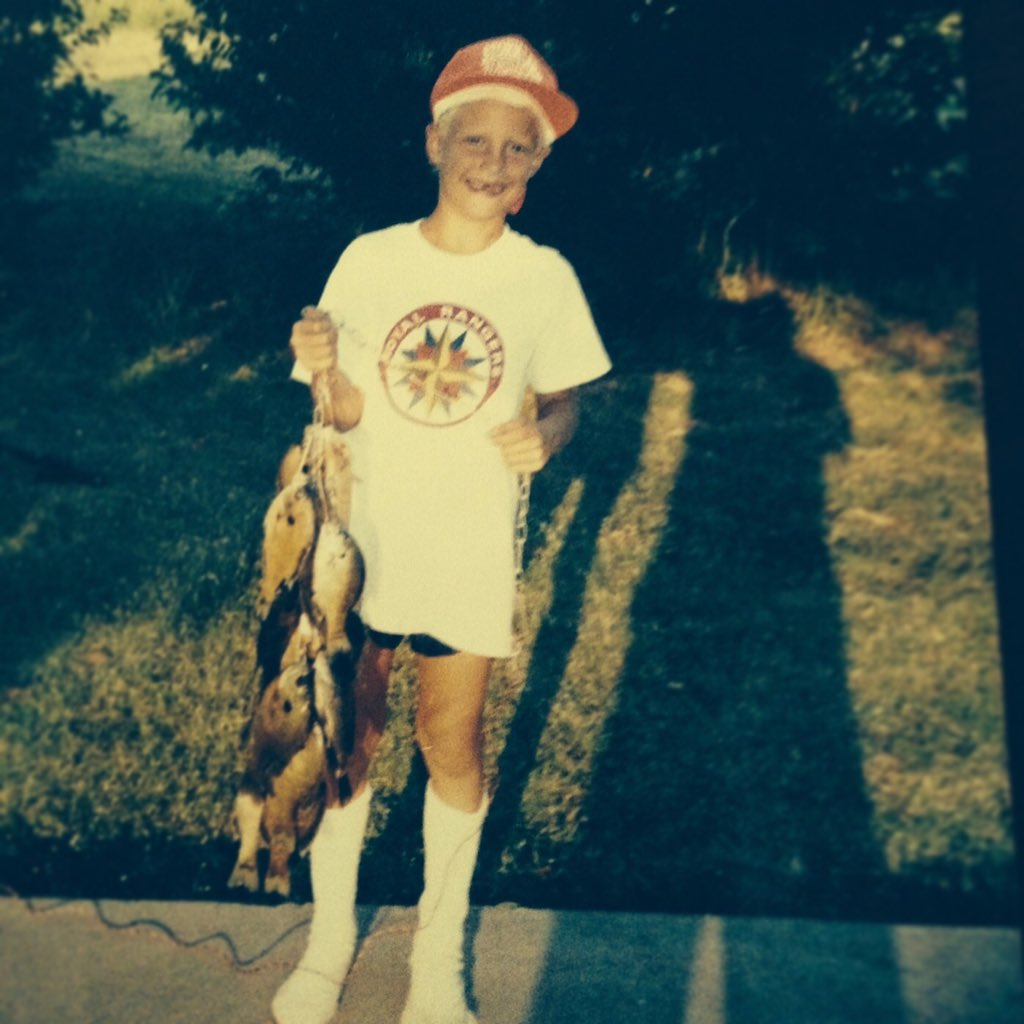 Happy #SFGOpeningDay from this adorable young Pence! His sock game has been on point since the 90's