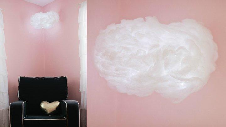#DecoraConElemas DIY: cómo fabricar una lámpara de nube