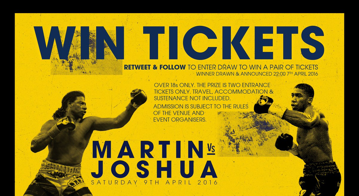 They sold out in 90 seconds but we've got a pair to give away  RETWEET & FOLLOW for a chance to win  #MartinJoshua https://t.co/Vew7UzxjtJ