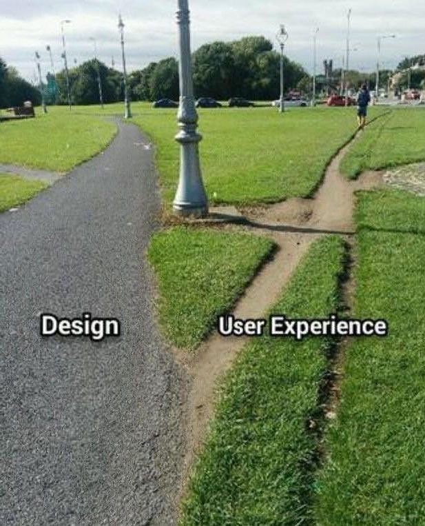 It is so important to remember that design is useless if not rooted in a good understanding of user behaviour. https://t.co/Y3kahJHfnS