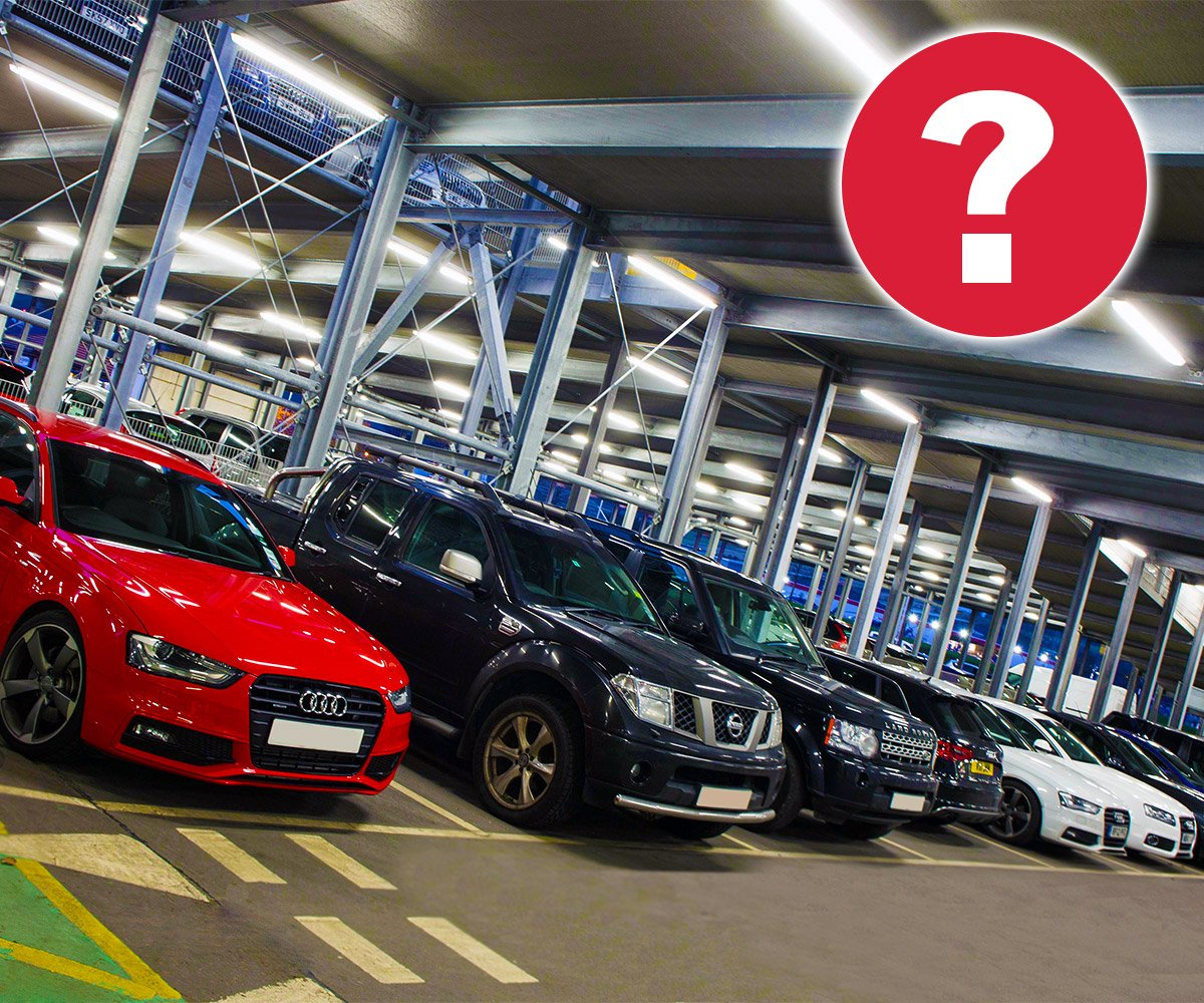 Guess how many car park spaces we have for a chance to win free parking on your next trip: