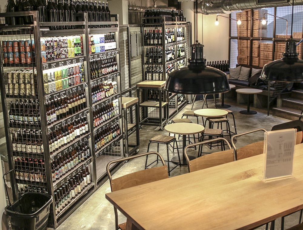 A whole floor dedicated to craft beer… welcome to our Marylebone bottle shop! https://t.co/IYy4i3PxLS