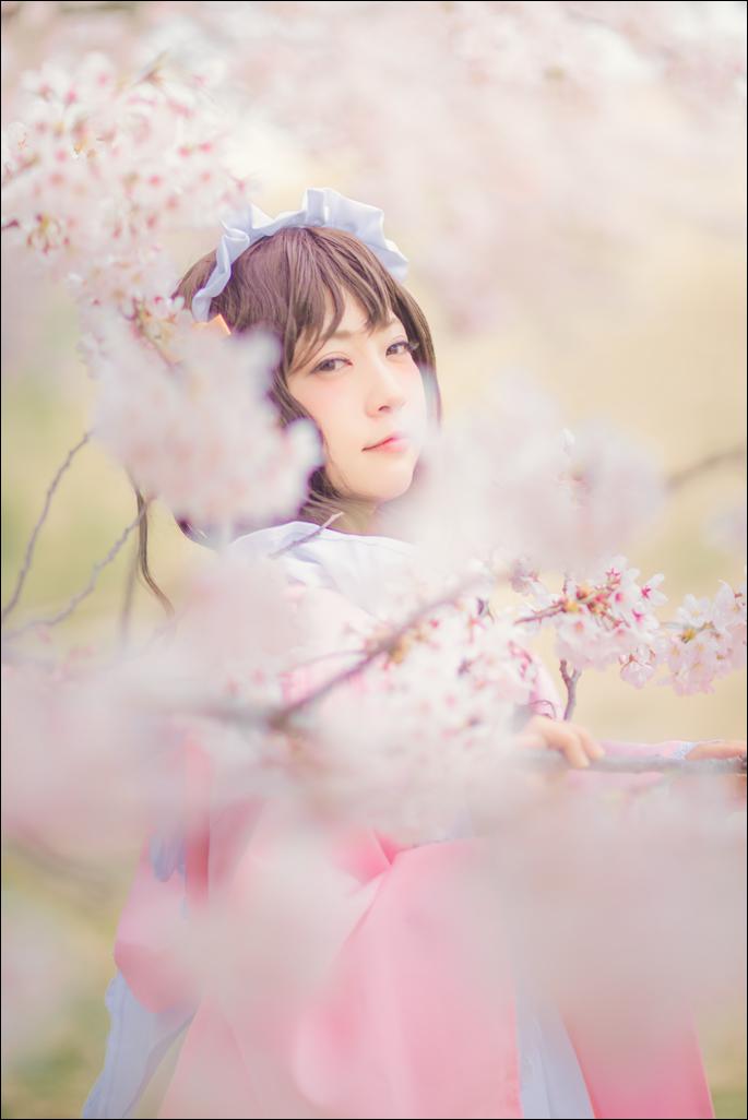 04/03 Trick桜ポトレ撮影会星乃まみさん()和ロリ 4部に撮れて嬉しかったです😊#桜trick