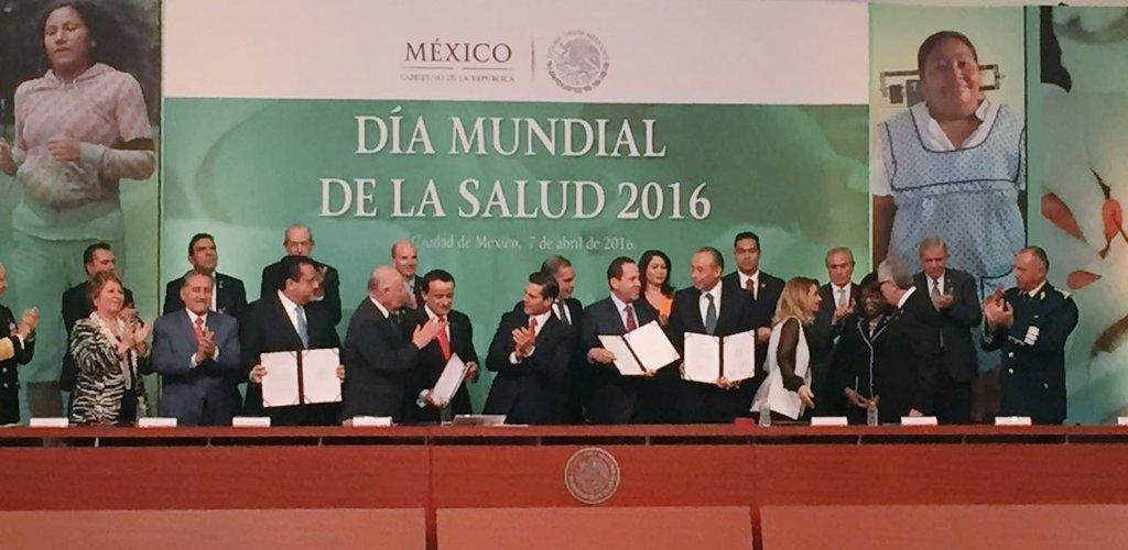 En el #DíaMundialDeLaSalud se firma Acuerdo Nacional hacia la Universalización de los Servicios de #Salud https://t.co/5k3yg6FKUU