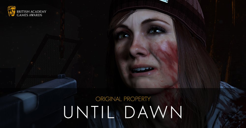 #BAFTAGames WINNER: Original Property - Until Dawn https://t.co/Veri9zqaMk https://t.co/GzaxzOvvge