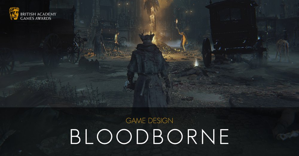 #BAFTAGames WINNER: Game Design - Bloodborne https://t.co/Veri9zqaMk https://t.co/XFPGwZIE1L