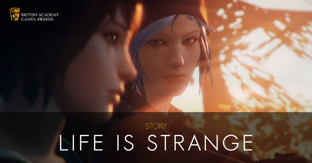 #BAFTAGames WINNER: Story - Life is Strange https://t.co/Veri9zqaMk https://t.co/tlvupfeM0M