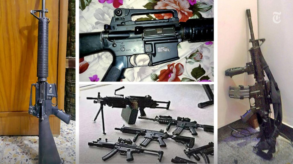 Weapons the Pentagon gave to Iraqi forces are instead on Facebook arms bazaars, for sale. https://t.co/6l39IPlfY7 https://t.co/ZrPnDIk8F1