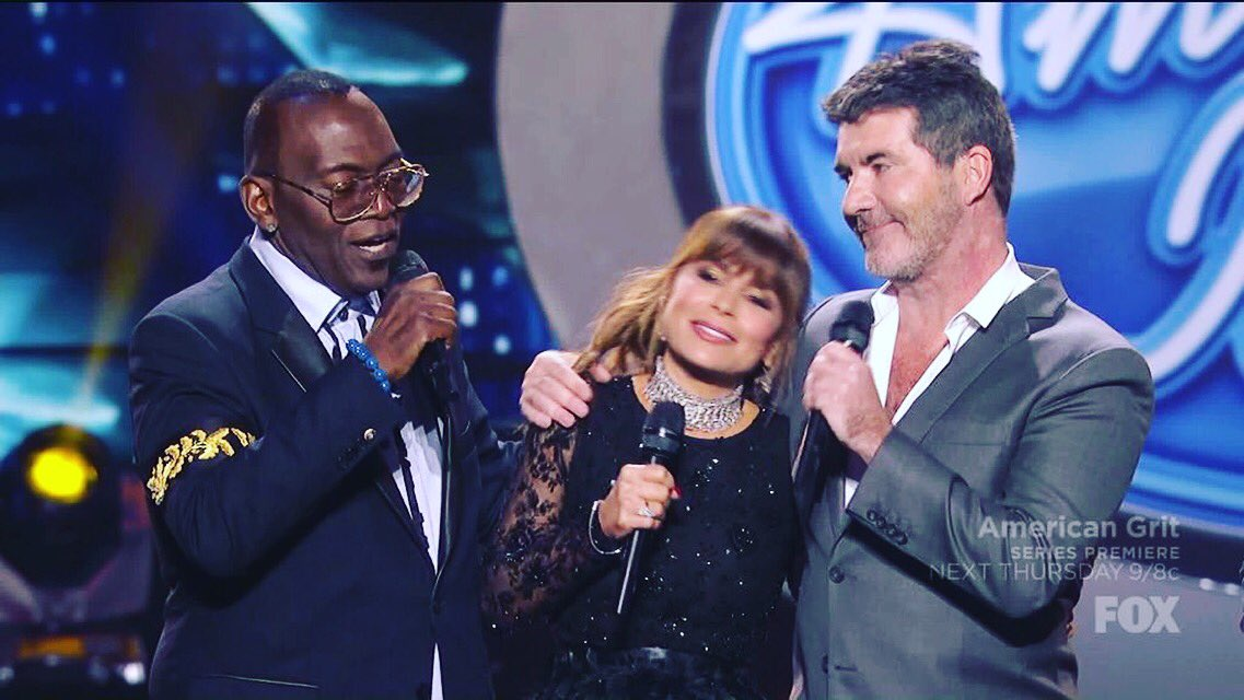 The originals @PaulaAbdul @SimonCowell @AmericanIdol #IdolFinale https://t.co/9LOMXuPZTa