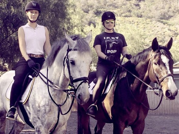 Iggy Azalea and Kesha enjoy horseback riding together amid personal setbacks: