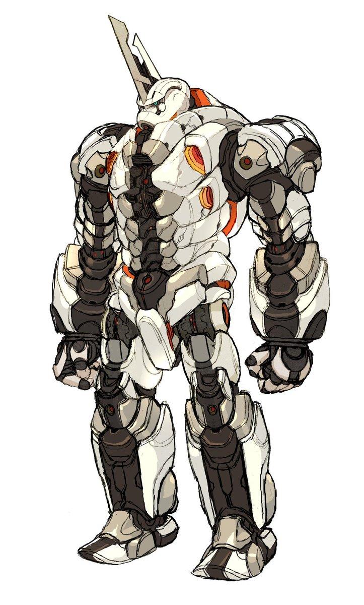 ブランキ・王舞。デザインは吉川達哉さん。参加のお返事いただいた時は嬉しくて叫びました。ずいぶん前から「ロボットをお願いし