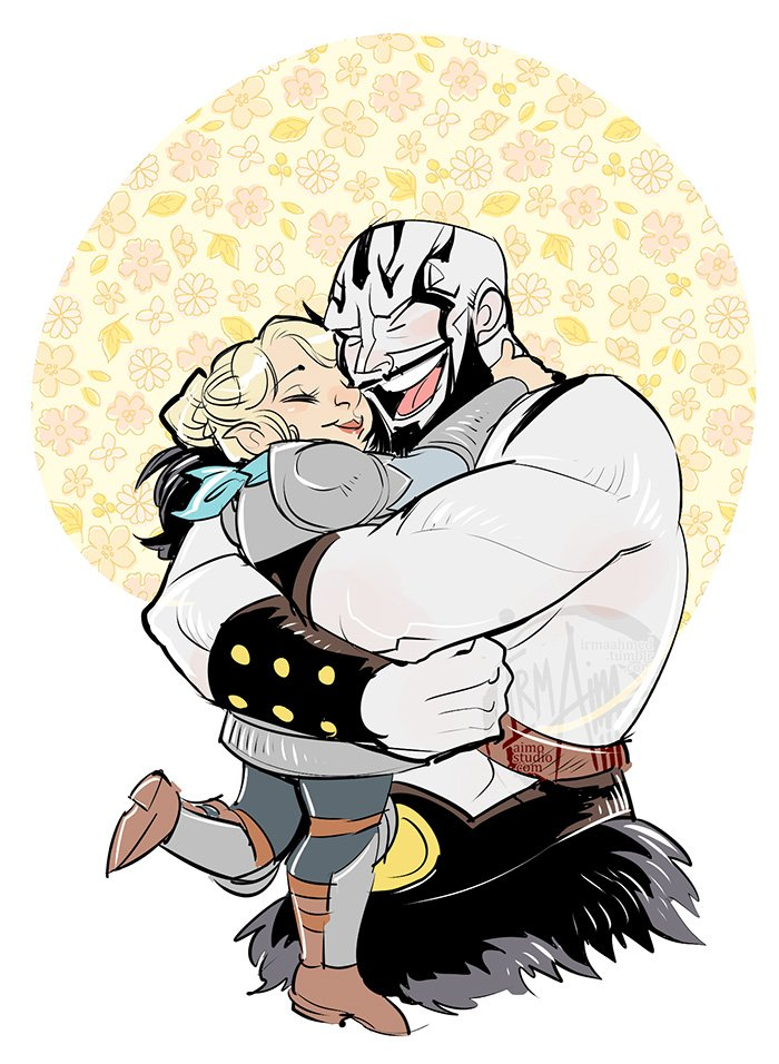 Grog is so happy to see his lil' friend again #CriticalRole https://t.co/aPgP1UxcWW