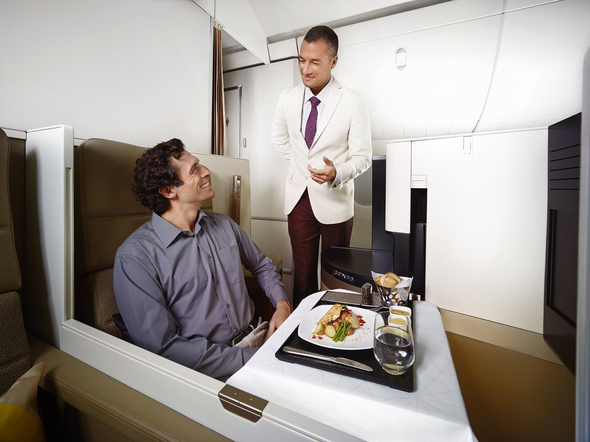 Business Class @EtihadAirways sale with up to 50% off. Abu Dhabi from £1,235 book by 11 Apr-