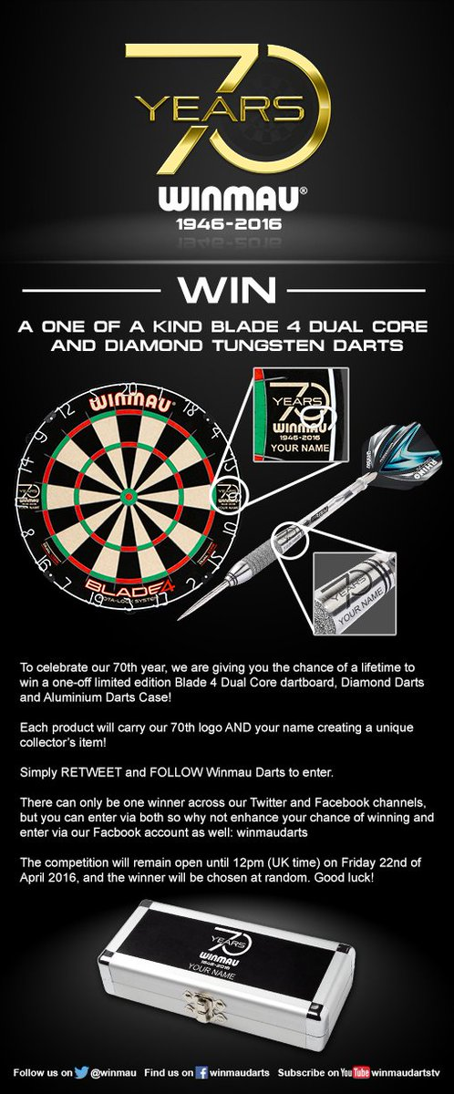 70th Anniversary Competition - It's a good one #BOOM #GetInvolved :) https://t.co/EqLNkD1yUh