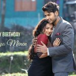 Wishing my Fab co-star #NityaMenen a very Happy Bday :) nee Next Telugu Cinema Pedda Hit avali ani korukuntunanu ;) https://t.co/FfPpfaBiOr