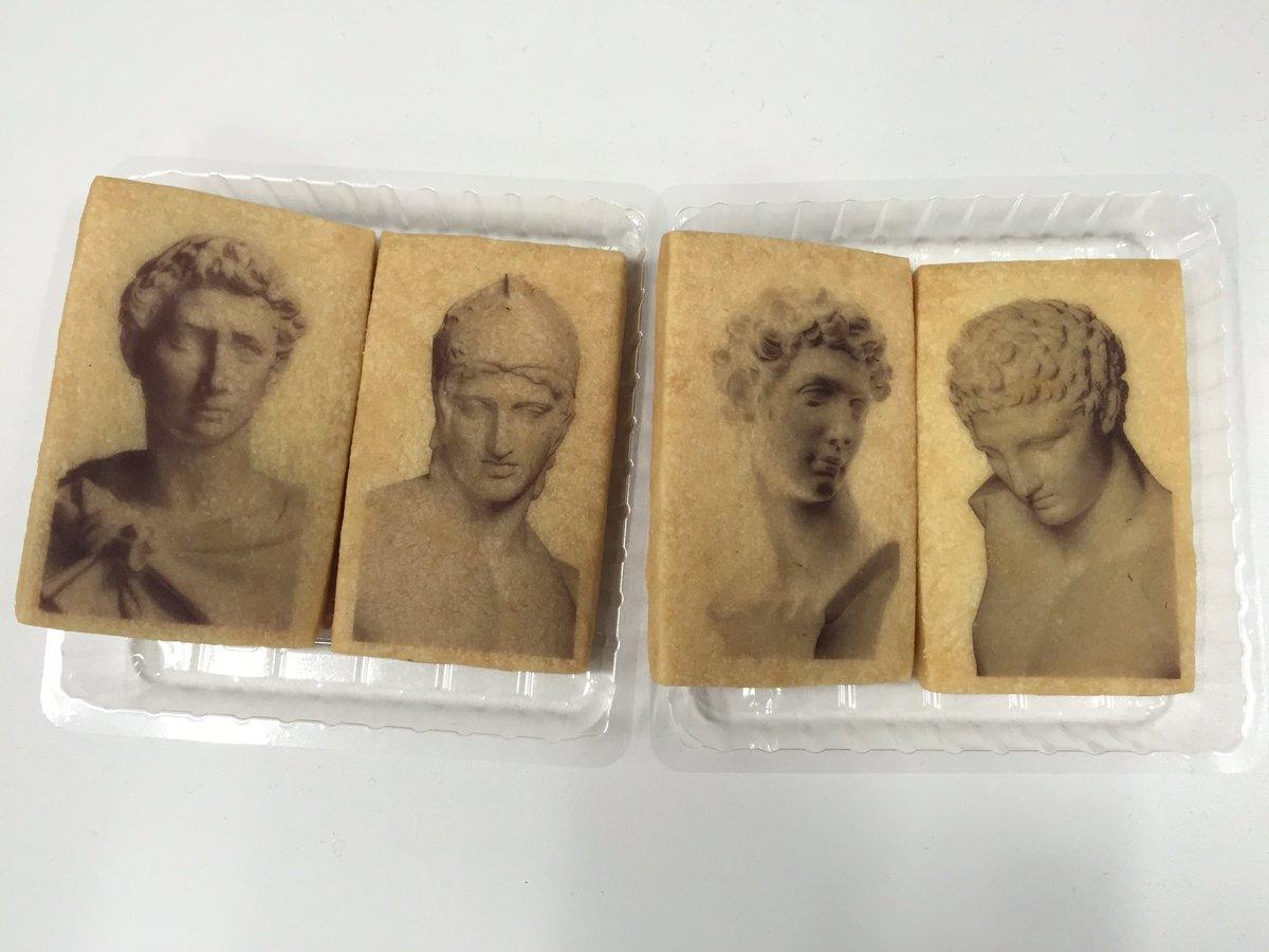 新宿マルイアネックスのショップ情報。なんといしぼクッキーが(笑)石膏像は固いですが、クッキーは歯が砕けることもなく、美味