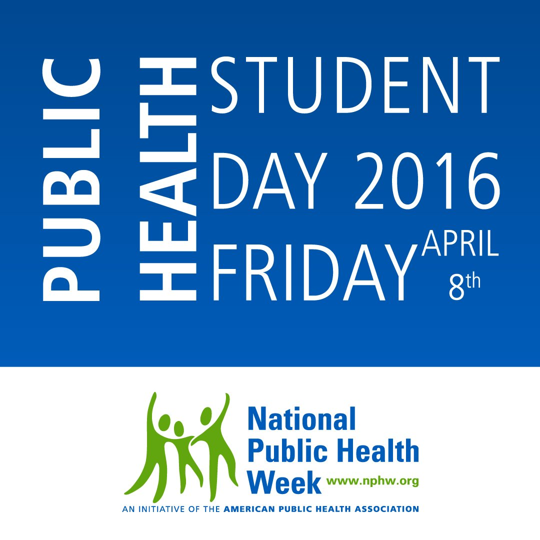It's Public Health Student Day! Thank you to all the amazing students who are creating a healthier nation!  #NPHW https://t.co/9JqBALt6vU