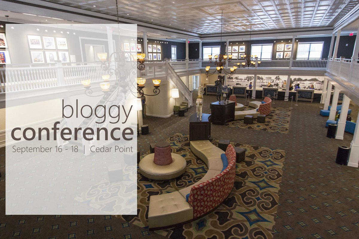 *1 WEEK LEFT* to grab a Bloggy Conference ticket at $95! Reserve your seat now! #BloggyCon16 https://t.co/ucvKMRKYsA https://t.co/V7xib23dlf