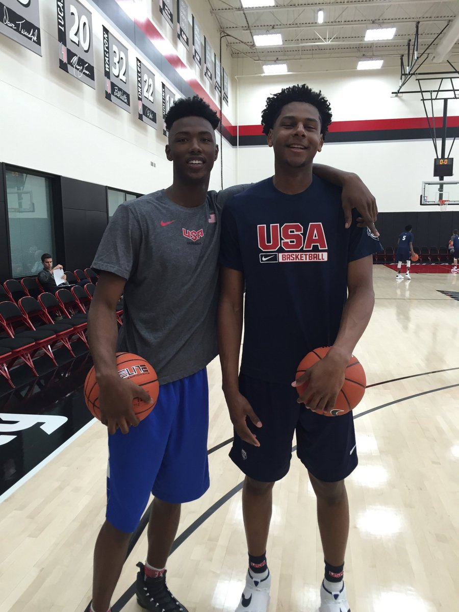 I asked Harry Giles if he is trying to recruit Marques Bolden to Duke? This was his answer...@TheReal_HG3 https://t.co/AeVse5i6rB