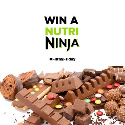 Let us know your favorite #FilthyFriday milkshake recipes & you could win a #NutriNinja Slim! #FridayFeeling https://t.co/yq01V5JooB