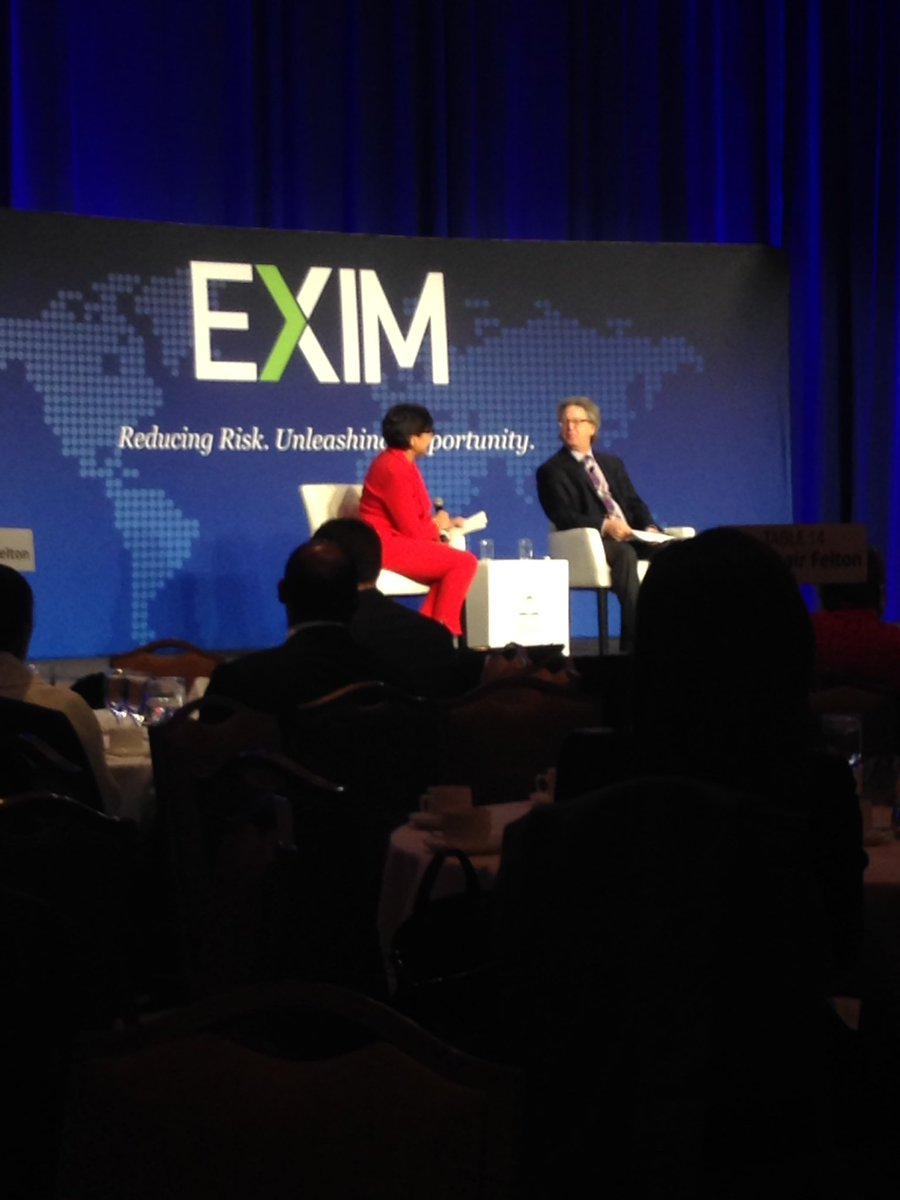 11.5 million US jobs are supported by exports. @PennyPritzker @EximBankUS #eximac16 https://t.co/W6QocTCvNc
