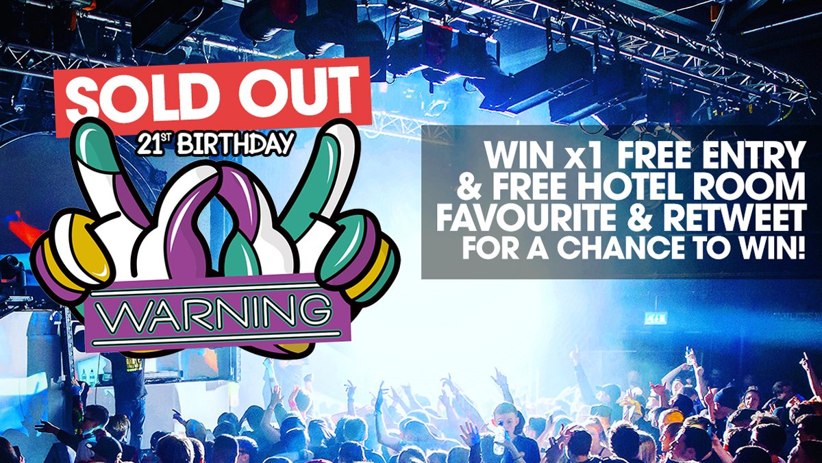 This Sat has SOLD OUT however, one last chance to Win Free Entry + Free Hotel room for the night. RT & Fav to enter! https://t.co/Cc99sRiDGk