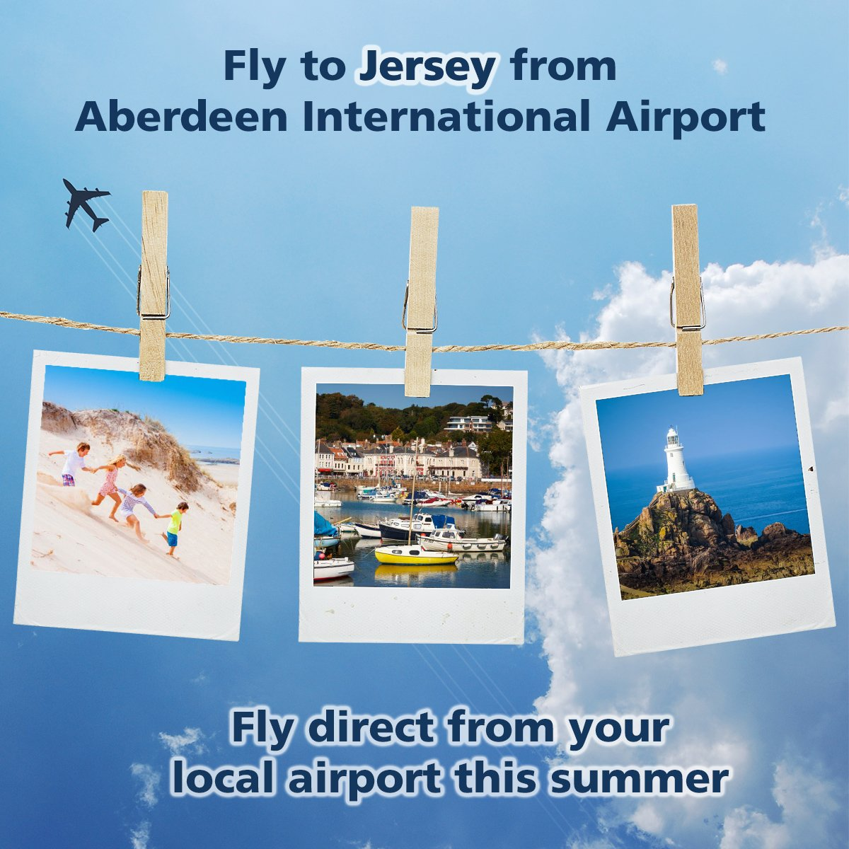Fly direct to Jersey from your local airport this summer!