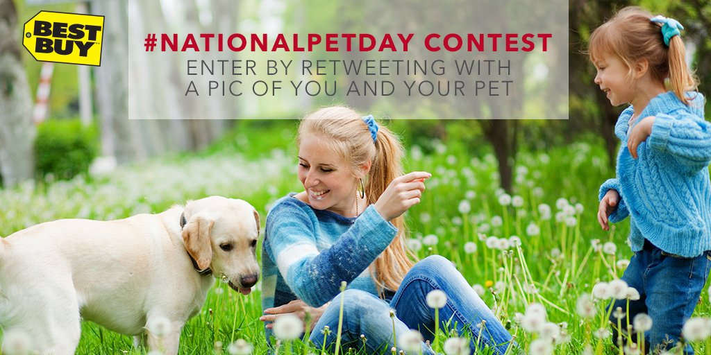 Support an Animal Shelter! Enter to WIN an $1800 #NationalPetDay Pet Tech pkg for them! https://t.co/YLOHD6EV4X https://t.co/EpJ0c5Rh8T