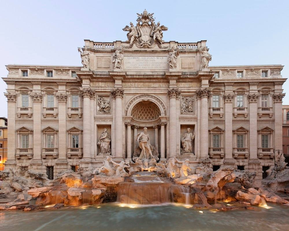 Legend has, if you throw a coin into Fontana di Trevi, you're sure to return to #Rome #travel #VikingCruises https://t.co/Sioy49lkfW