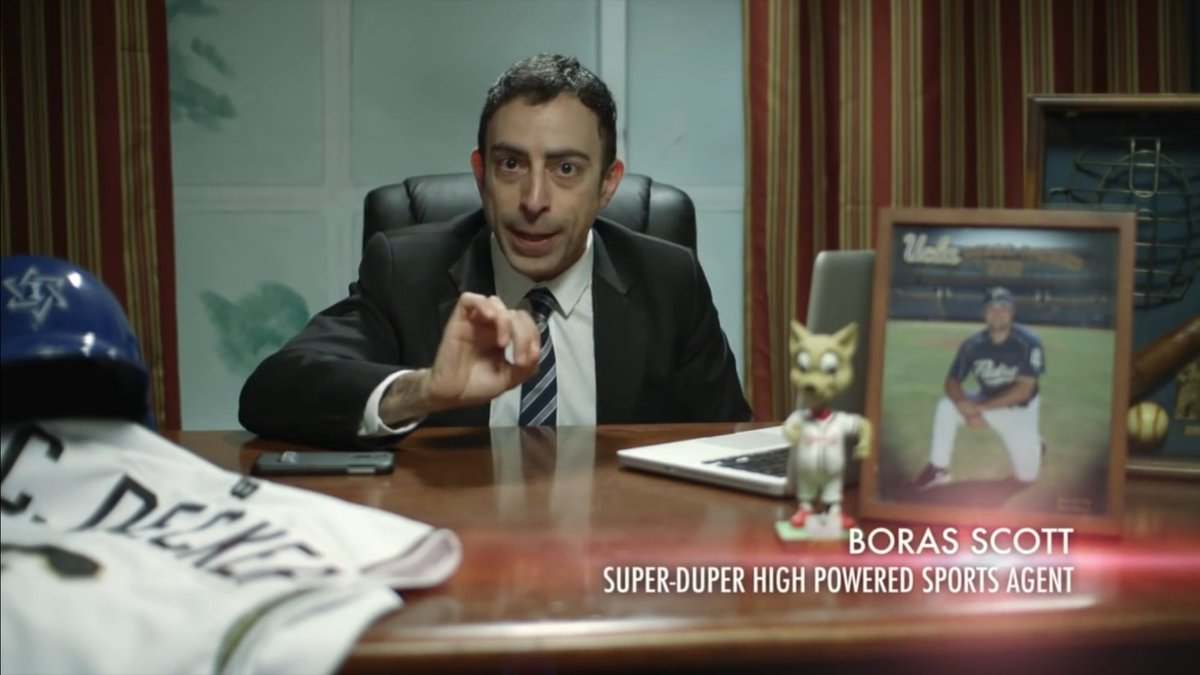 The great @halrudnick doing his best @HeymanHustle in our new film! https://t.co/UxR495b0yP https://t.co/d9GUqKDPst