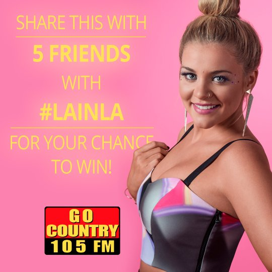 Your last chance to see @Lauren_Alaina with the @OfficialJackson at the Honda Center! https://t.co/k87ZQCW90C https://t.co/B0ojQILFit