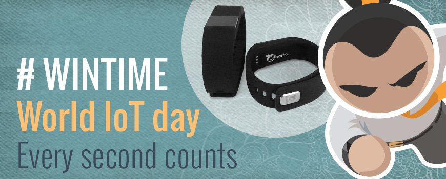 Tomorrow is World IoT Day! Share, Like, Retweet and Follow Basho to enter and qualify to win a Basho Smart Bracelet https://t.co/IT41H7F2xc