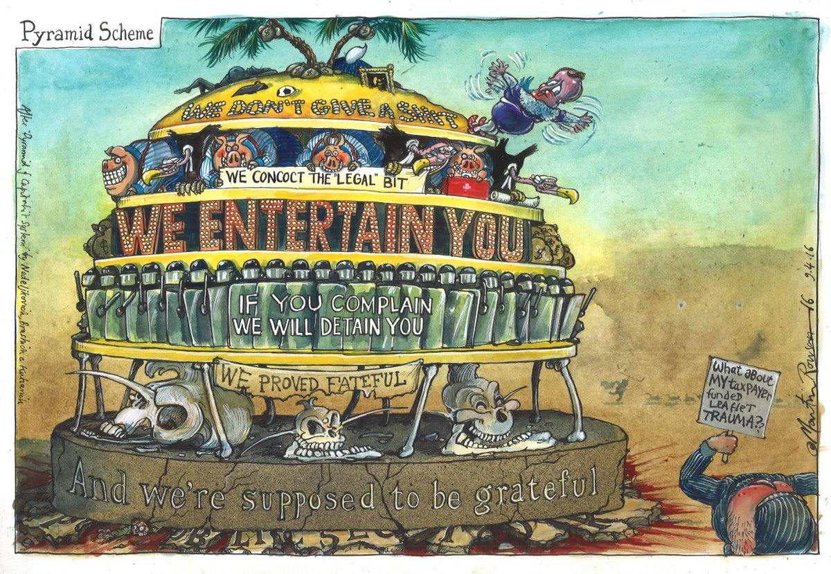 Martin Rowson on the fallout from the Panama Papers – cartoon