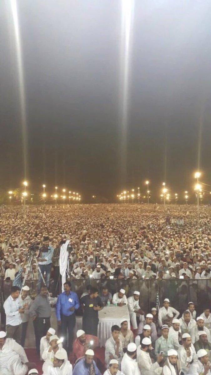 أكثر من نصف مليون يحضرون لمحاضرة إمام الحرم المكي الدكتور صالح آلِ طالب في الهند ،،،، طبعا إعلامنا هذه أشياء ماتهمه https://t.co/JHZq98YJQ6