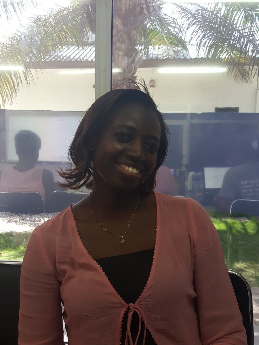 #ArtAndFeminism #editathon. Putting women on @Wikipedia. @Evemahmoud chose Lucy Quist- MD of @airtelghana