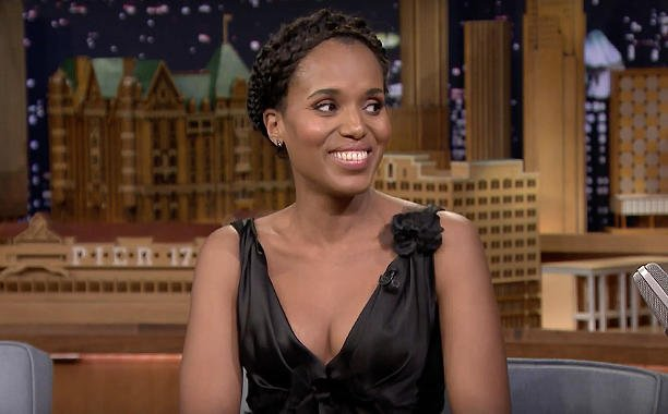 .@kerrywashington learned to dance from Jennifer Lopez!:
