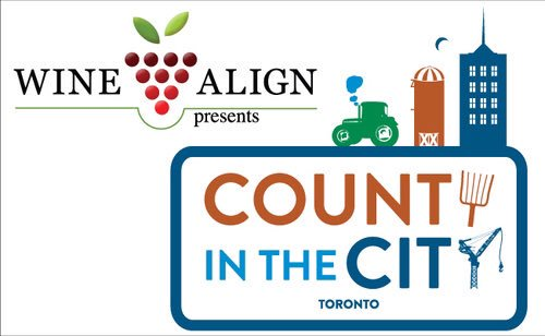 #CountyintheCity comes to #toronto @DrinkIncEvents  @WineAlign April14 Sample Prince Edward County Wines #wine https://t.co/w527agRz5I