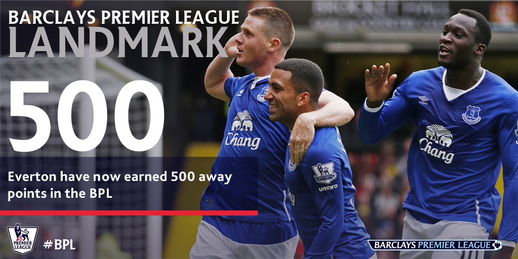 #DidYouKnow...?  The Toffees are the 7th #BPL team to reach this total on the road https://t.co/jvHQyagb0u