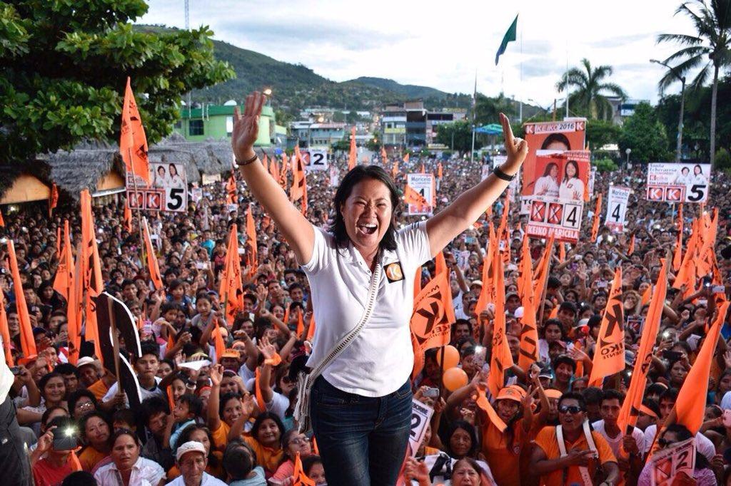 La única candidata que no insultó, que hizo propuestas, que se caminó el #Peru  #VamosKonTodo #EleccionesPeru2016 https://t.co/1kswzZGqIb