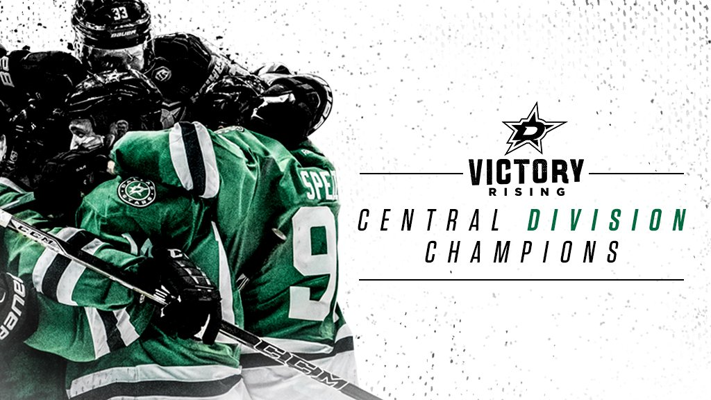 Your Dallas Stars are the best in the West and 2015-16 Central Division champions!  Rise with us. #VictoryRising https://t.co/UVApVKWX8M